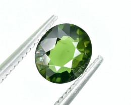 0.82 Crt Natural Chrome Tourmaline Faceted Gemstone.( AG 24)