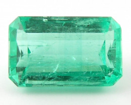 2.04 ct Natural Colombian Emerald Green Gem Loose Gemstone Stone