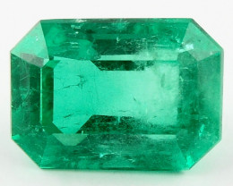 6.00 ct Natural Colombian Emerald Green Gem Loose Gemstone Stone