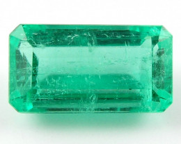 1.83 ct Natural Colombian Emerald Green Gem Loose Gemstone Stone