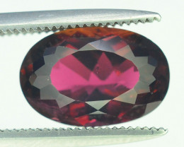 Amazing Color 2.65 ct Natural Dark Pink Color Tourmaline
