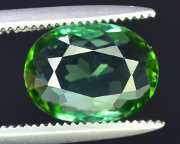 Amazing Color 1.65 ct Natural Green Color Tourmaline