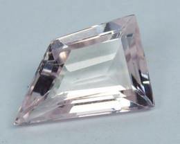 Natural Light Pink Morganite Fancy Cut Brazil 1.56 Cts