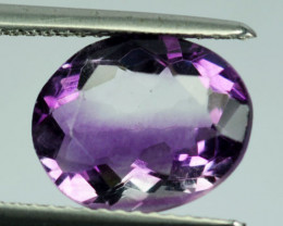5.21Ct Natural Purple Fluorite Oval Cut Afghanistan
