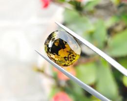 5.50 Ct Natural Golden Yellow Transparent Tourmaline Gemstone