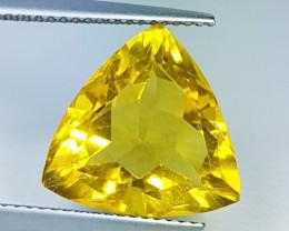 """9.25 ct """"AAA Grade Gem """" Stunning Triangle Cut Natural Fluorite"""