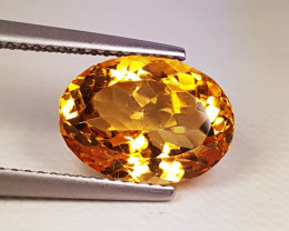 """5.10 ct """" Top Quality Gem"""" Amazing Oval Cut Natural Citrine"""