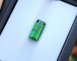 2.65 Ct Natural Greenish  Transparent Tourmaline Loose Gem