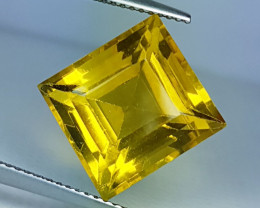 """11.95 ct """" Collector's Gem """" Stunning Square Cut Natural"""