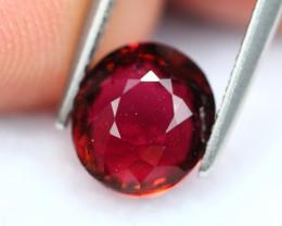 Rubellite 2.47Ct Natural Vivid Red Rubellite Tourmaline E0204