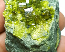 Amazing Epidote combine with Dipsosite 250Cts - Afghanistan