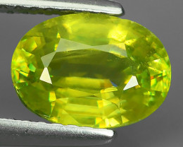 2.30 CTS AMAZING RAREST ! TOP FIRE NATURAL GREENISH-YELLOW COLOR SPHENE!$39