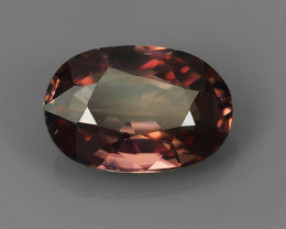 WOW!!!2.20 CTS STUNNING NATURAL RARE IMPERIAL PINK ZIRCON GEM~