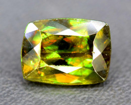 2.35 Carats Full Fire Sphene Titanite Gemstone From Pakistan