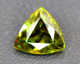 1.20 Carats Full Fire Sphene Titanite Gemstone From Pakistan