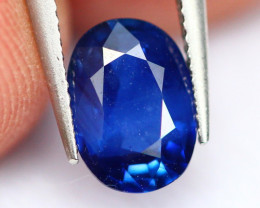 Blue Sapphire 0.92Ct Heated Only Cornflower Blue Sapphire E0301