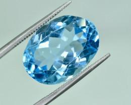 14.84 Crt Natural Topaz Faceted Gemstone.( AG 25)