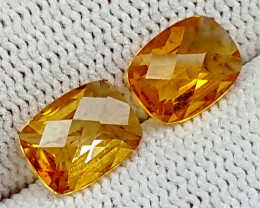 2.75CT MADEIRA CITRINE BEST QUALITY GEMSTONE IGC76