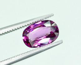 1.64 Crt Natural Rhodolite Garnet Faceted Gemstone.( AG 25)