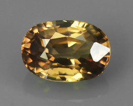 2.62 CtS ATTRACTIVE ULTRA RARE NATURAL ZIRCON OVAL EXECLLENT!!