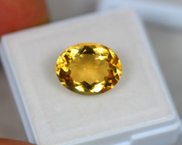 5.42ct Yellow Citrine Oval Cut Lot GW3490