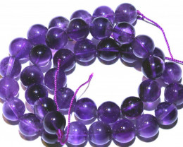 282.60 CTS  AMETHYST BEAD STRAND NP-2647