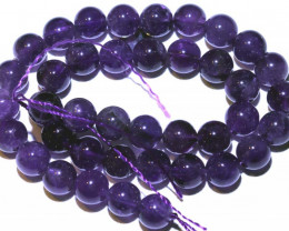 279.85 CTS AMETHYST BEAD STRAND NP-2648
