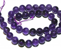 303.40 CTS AMETHYST BEAD STRAND NP-2849