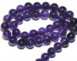 294.50 CTS AMETHYST BEAD STRAND NP-2650
