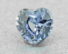 N/R Natural untreated Sapphire 0.51ct, well-cut & good brilliance (0137