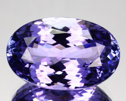 Unique Custom 11.11 Cts Natural Pinkish Purple Tanzanite Tanzania Pear