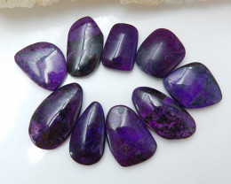 94Cts sugilite lovely cabochon bead customized jewelry E139