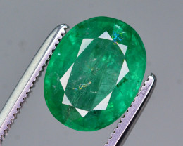 Certified~  2.35 Ct Natural Zambia Emerald Gemstone