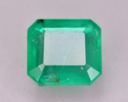 Certified~  1.90 Ct Natural Zambia Emerald Gemstone