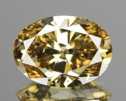 1.01 CTS AIG CERTIFIED UNTREATED FANCY VIVID BROWNISH ORANGE NATURAL DIAMON