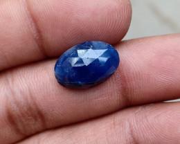 BLUE SAPPHIRE ROSE CUT GEMSTONE Natural+Untreated VA4063