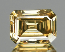 1.01 CTS AIG CERTIFIED UNTREATED FANCY BROWNISH ORANGE NATURAL DIAMOND