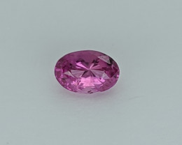 Pink (Heated ) Natural Sapphire (GIA Certified)