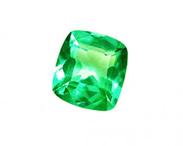 0.72 ct Zambian Emerald Top Of The Line Stone Certified!