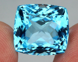 24.16 ct. 100% Natural Earth Mined Top Quality Blue Topaz Brazil