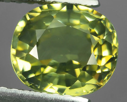2.25 CTS MASTER GRADE LUSTROUS RICH YELLOW CHRYSOBERYL NATURAL!$380.00