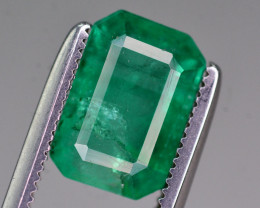 Certified~ 2 Ct Natural Zambia Emerald Gemstone