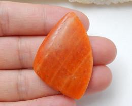 Orange Gemstone ,Birthday Stone ,Rhodochrosite Cabochon ,healing Stone B929