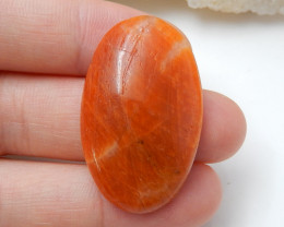 Orange Gemstone ,Birthday Stone ,Rhodochrosite Cabochon ,healing Stone B930