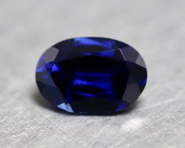 Natural blue Kashmir sapphire.