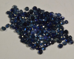 5.60 total cts. of blue Sapphires (KG2L2)