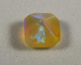 faceted ethiopian opal 1 cts. (KG21L2)