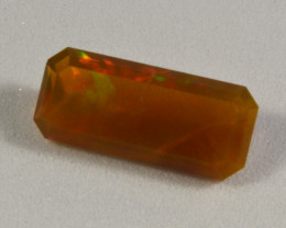 Faceted Emerald cut ethiopian opal 1.95 cts. (KG24L2)