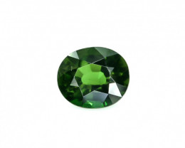 1.43 Crt Natural Chrome Tourmaline Faceted Gemstone.( AG 26)