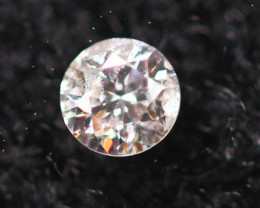 2.15mm Natural Light Pink To White Diamond Clarity VS Lot P226